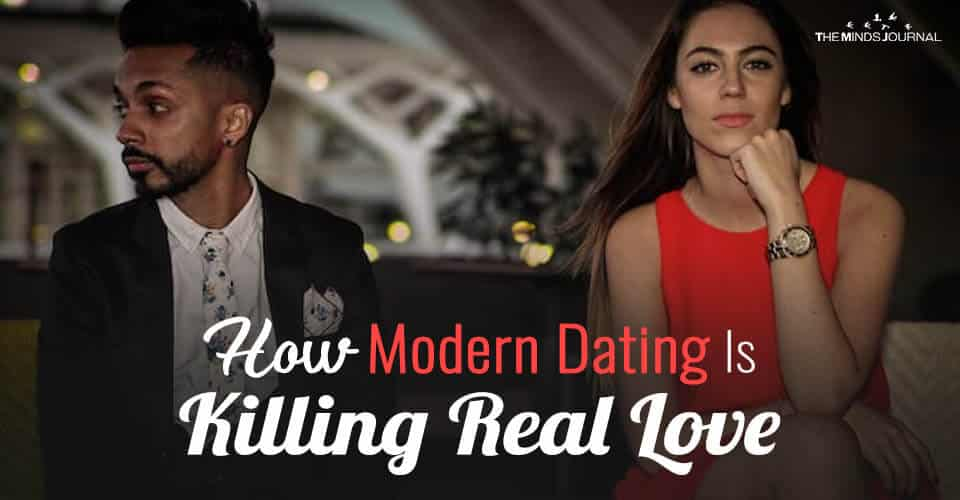 In This Modern Dating World, I Don't Believe In Love Anymore