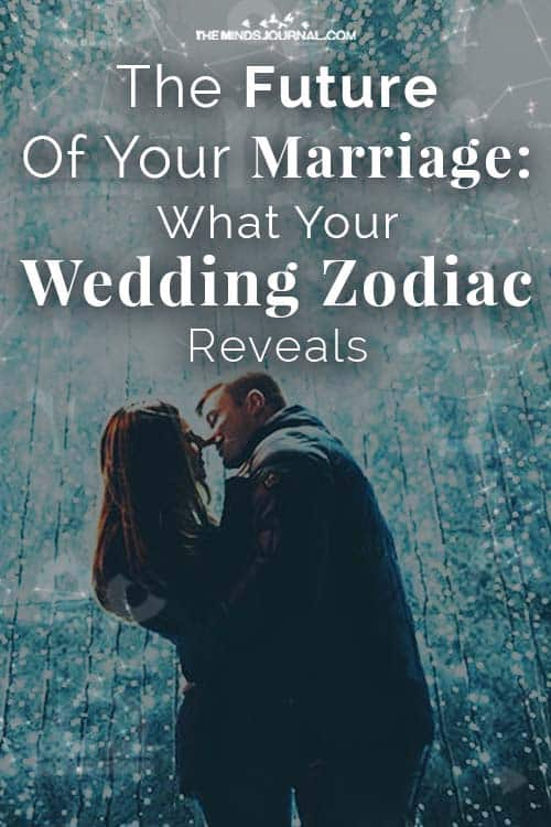 Marriage Future Wedding Zodiac Reveals Pin