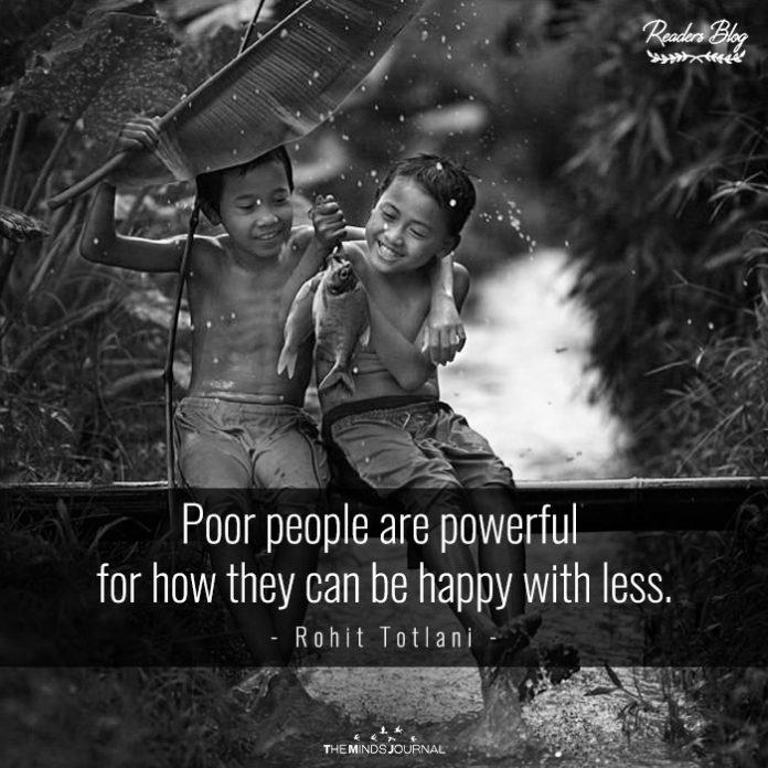 Poor People Have Power