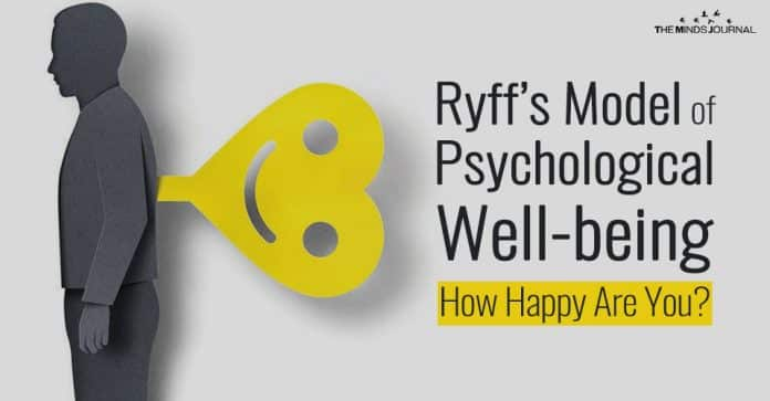 Ryff's Model of Psychological Well-being: Is Happiness The Only Thing That Matters?
