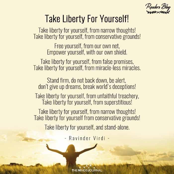 Take Liberty For Yourself!