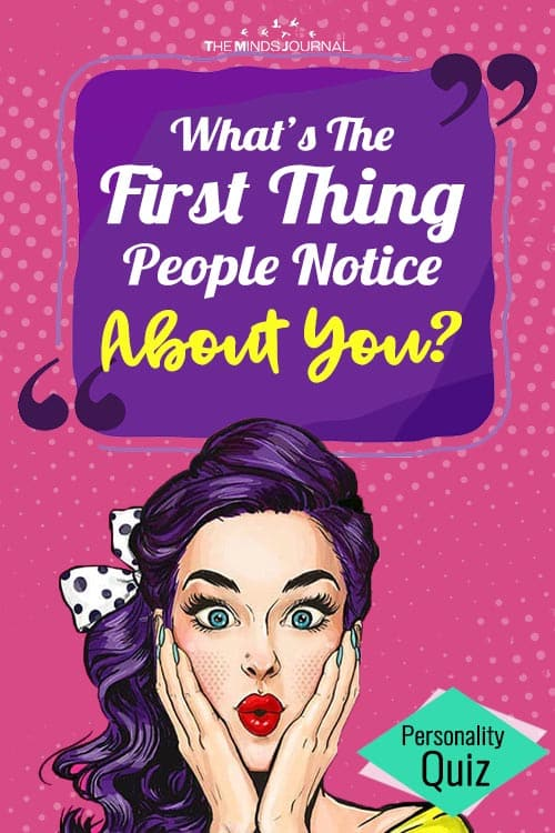 This Image Test Can Tell You What Others First Notice About You