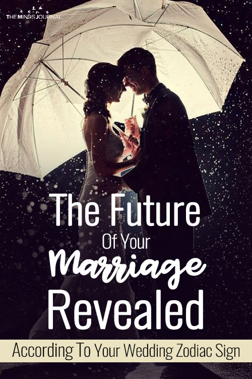 Your Wedding Zodiac Reveals The Future Of Your Marriage