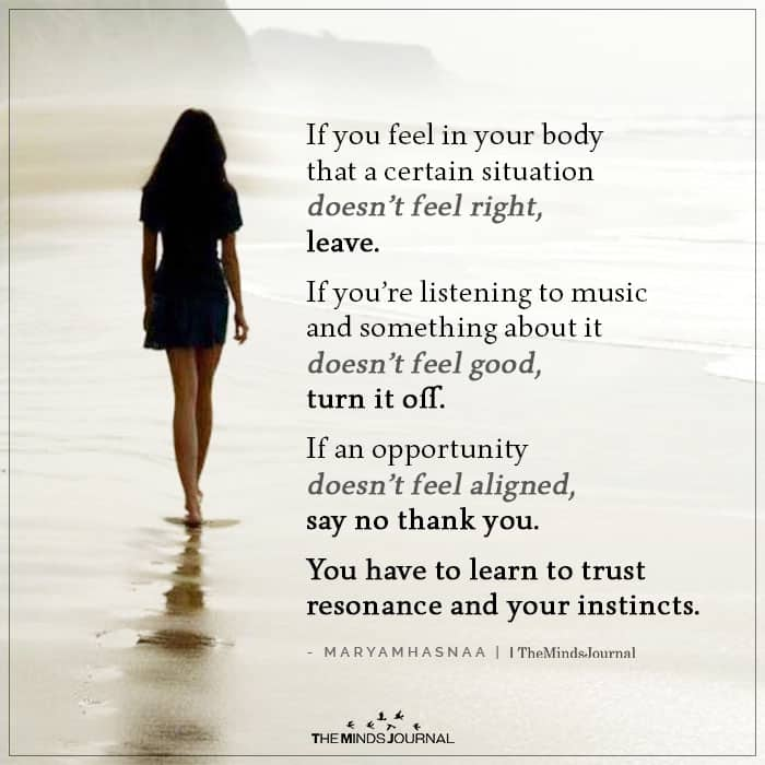 If You Feel in Your Body