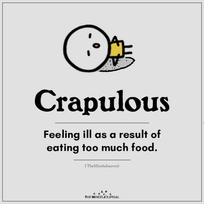 Crapulous