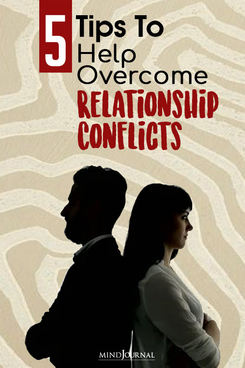 tips to help overcome relationship conflicts pin