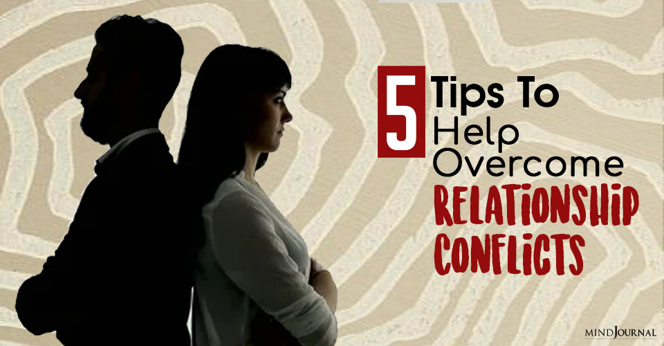 tips to help overcome relationship conflicts