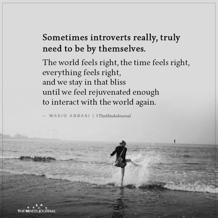 Sometimes Introverts