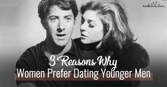 3 Reasons Why Women Prefer Dating Younger Men