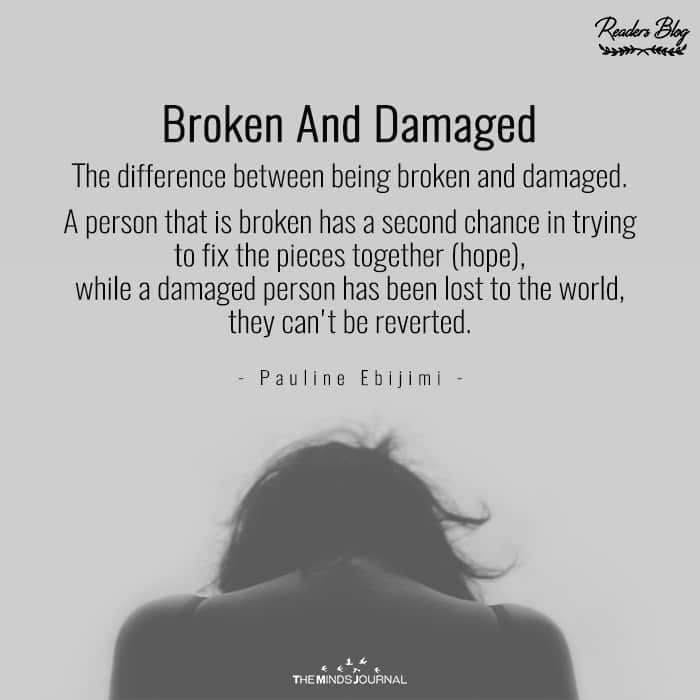 Broken And Damaged