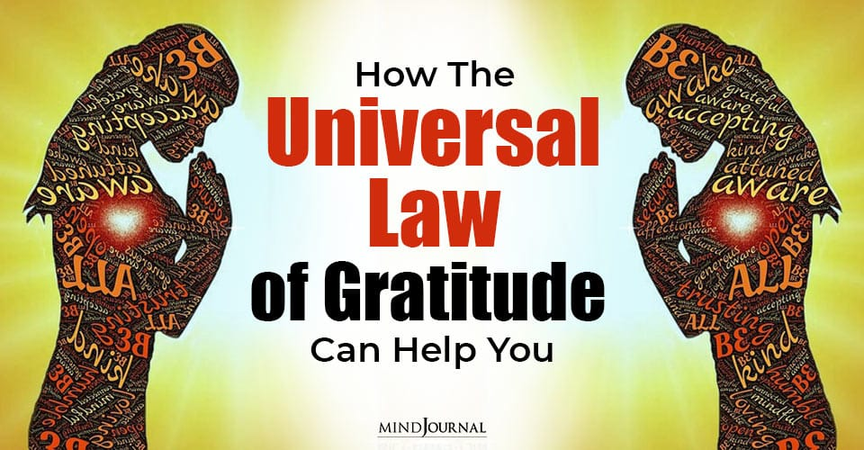 How Universal Law Gratitude Can Help You