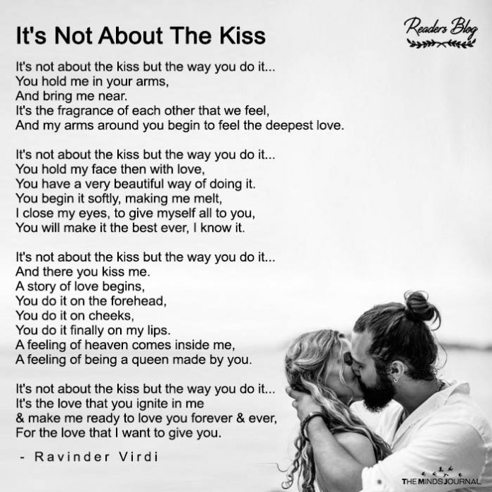 It's Not About The Kiss