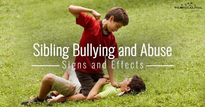 Sibling Bullying and Abuse