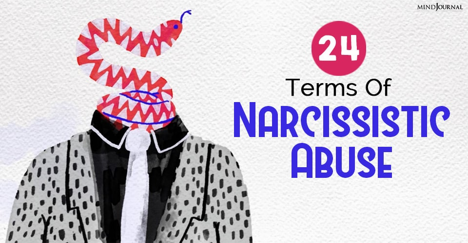 Terms Of Narcissistic Abuse