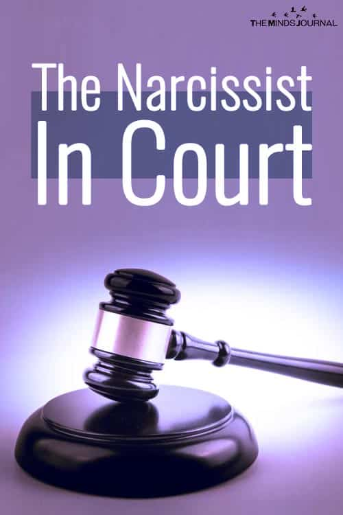 The Narcissist In Court