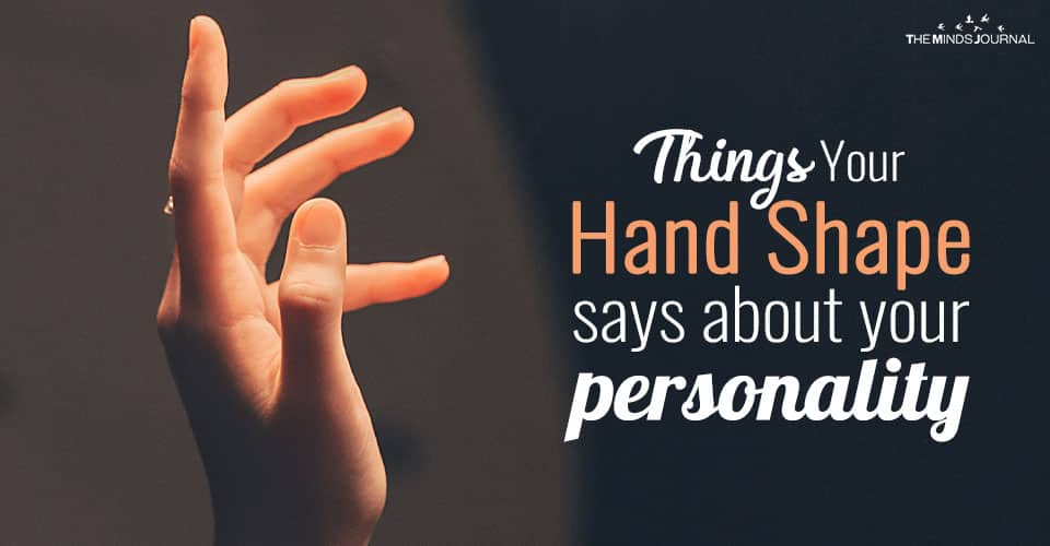 Hands shape determines personality