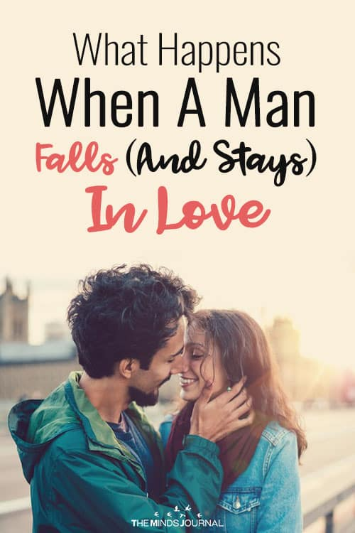 What Happens When A Man Falls (And Stays) In Love