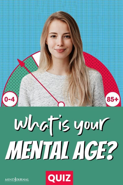 What Is Your Mental Age pin
