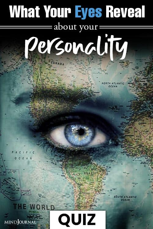 What Your Eyes Reveal Personality QUIZ pin