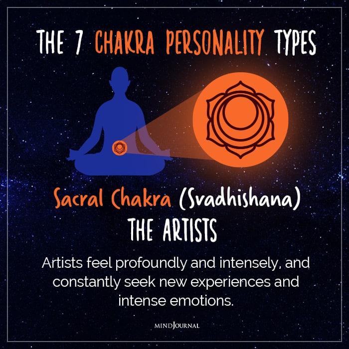 chakra personality sacral