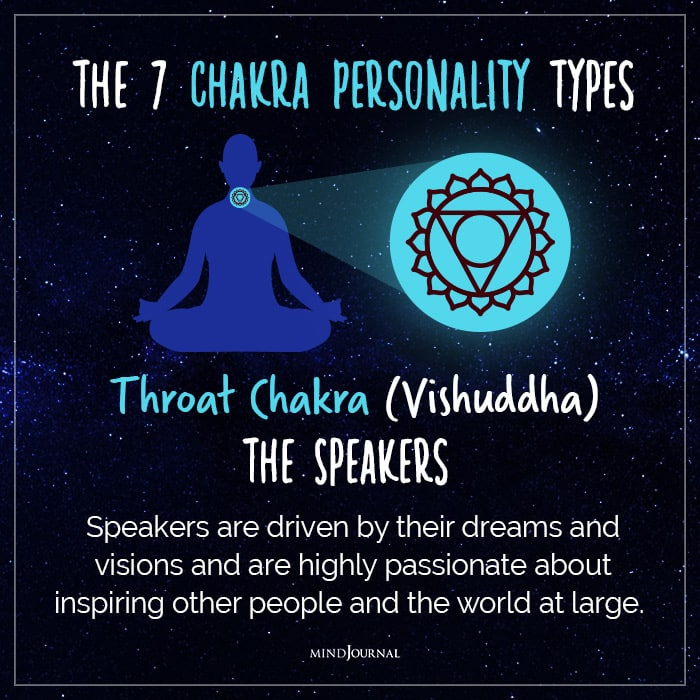 chakra personality throat