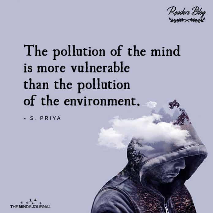 pollution of mind