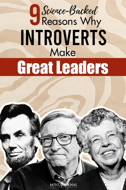 science-backed reasons introverts make good leaders pin