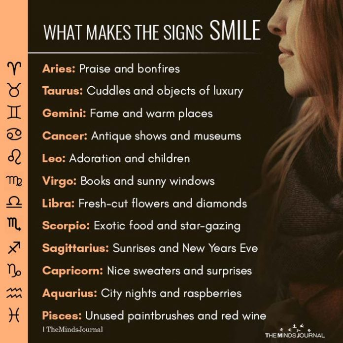 What Makes the Signs Smile