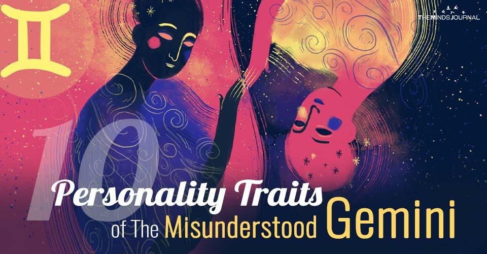 10 Personality Traits About The Misunderstood Gemini