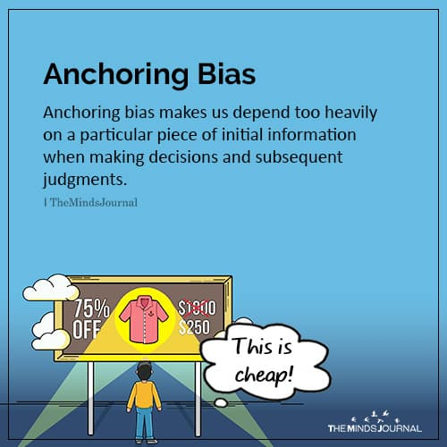 Anchoring Bias: Interesting Facts About The Brain