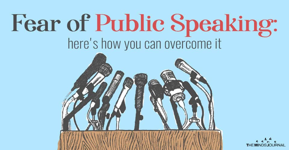 The Fear of Public Speaking: Here's How You Can Overcome It
