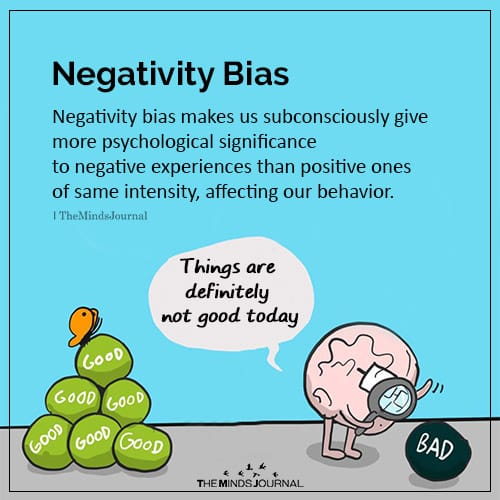 Negativity Bias: Interesting Facts About The Brain
