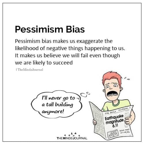 Pessimism bias