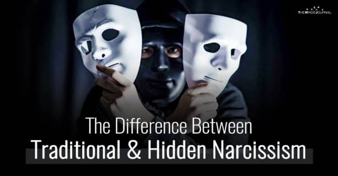 The Difference Between Traditional and Hidden Narcissism