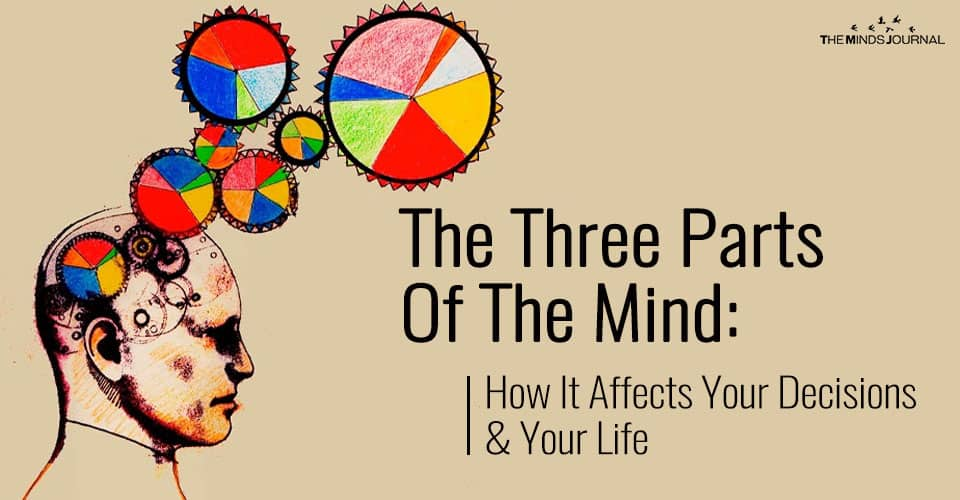 The Three Parts Of The Mind: How It Affects Your Decisions & Your Life