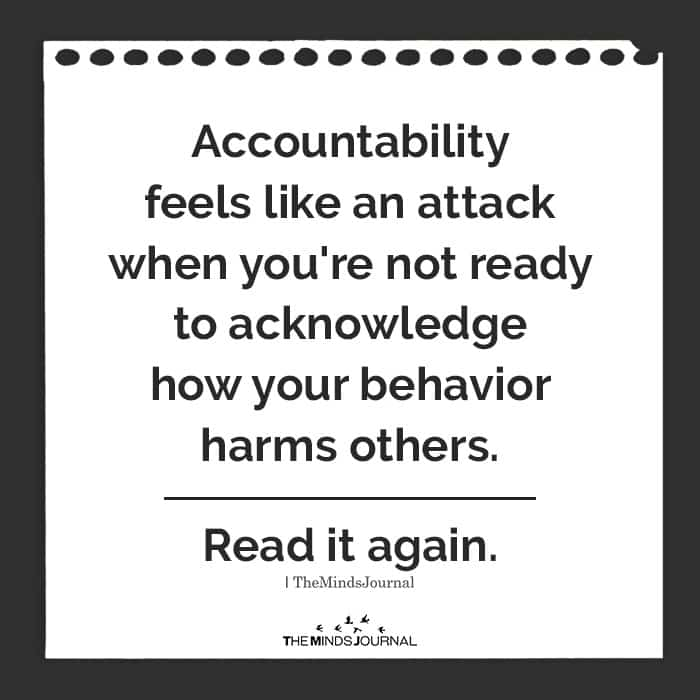 Accountability Feels Like An Attack When You're Not Ready