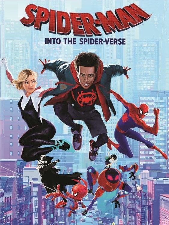 spider man into the spider verse, animation