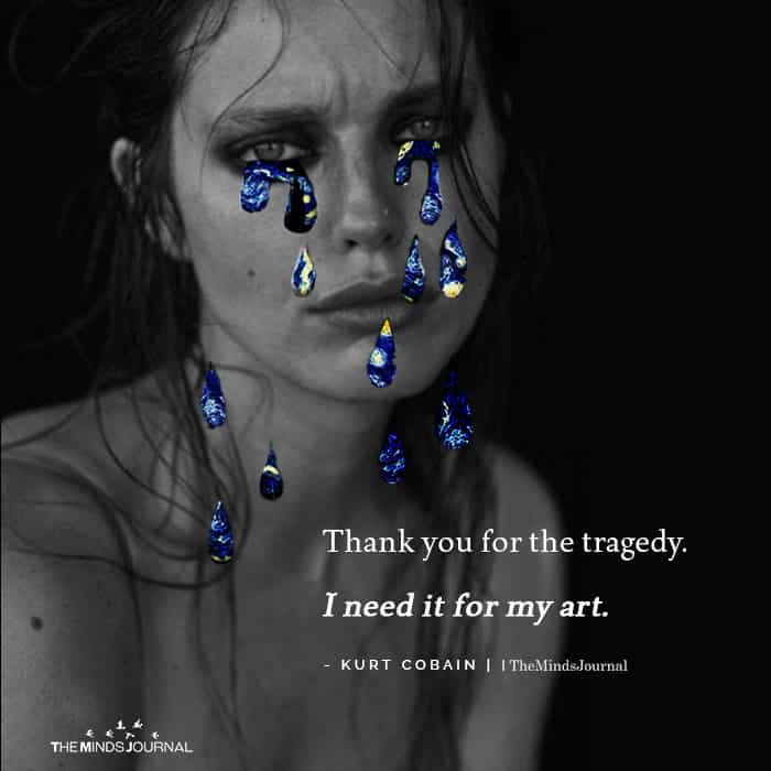 Thank You For The Tragedy I Need it