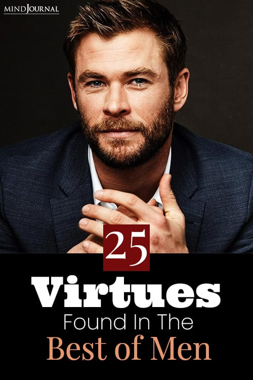 virtues found in the best of men pin