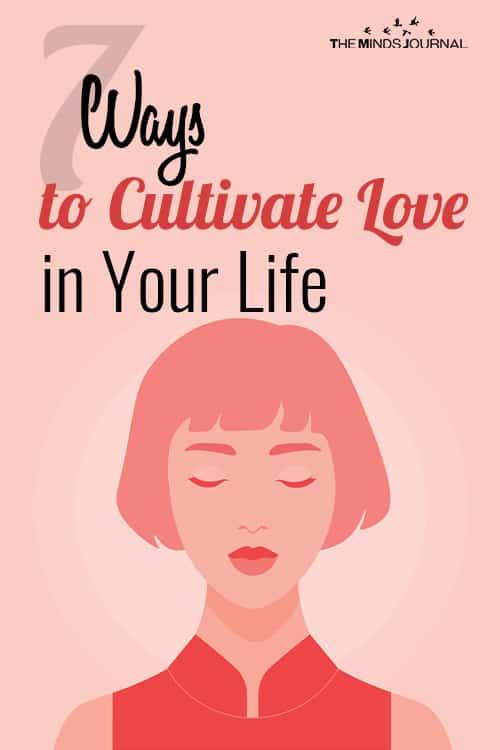 cultivate self-love