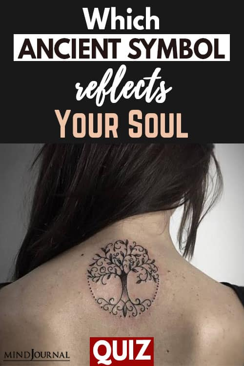 Ancient Symbol Reflects your Soul pin