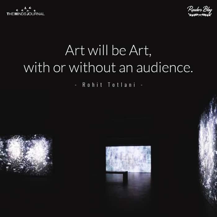 Art Will Be Art