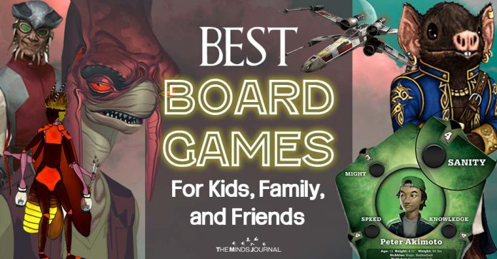 Best Board Games For Kids, Family, and Friends