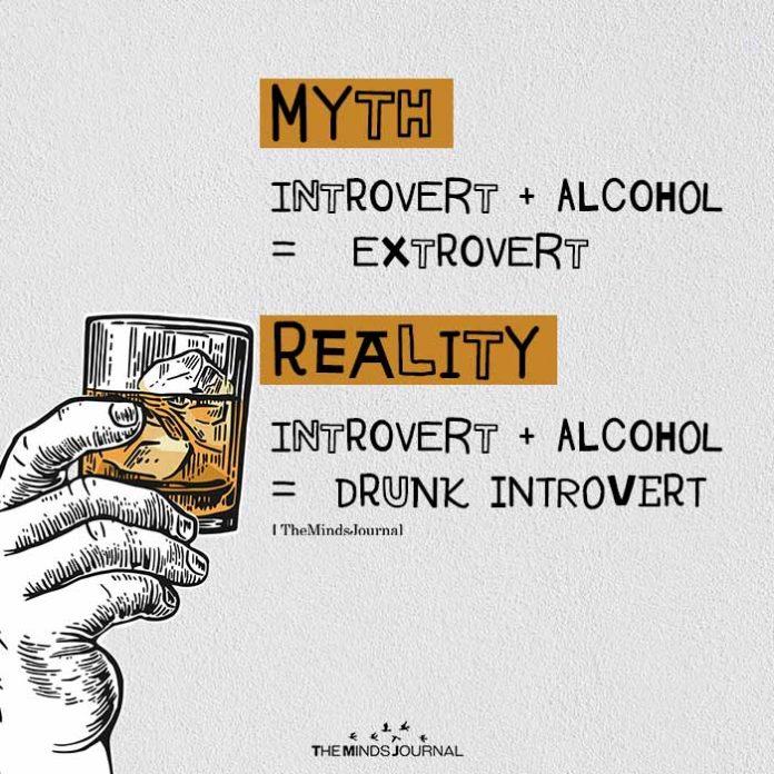 DRUNK INTROVERT
