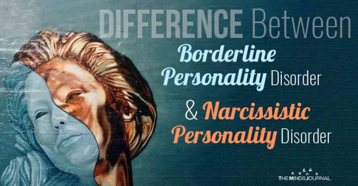 Difference Between Borderline Personality Disorder and Narcissistic Personality Disorder