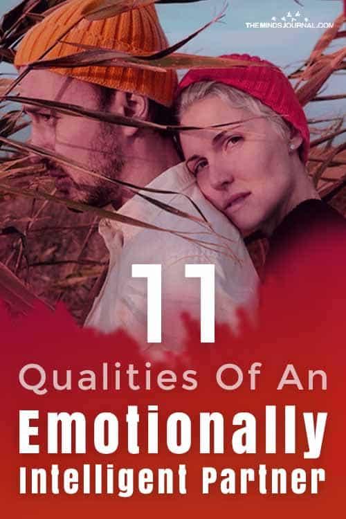 Emotionally Intelligent Partner Qualities pin