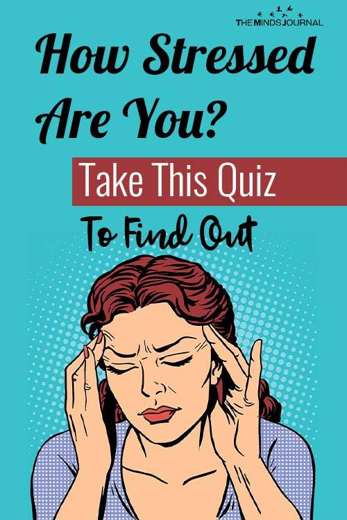 How Stress quiz pin