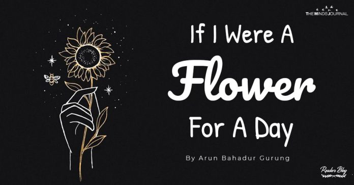 If I Were A Flower For A Day