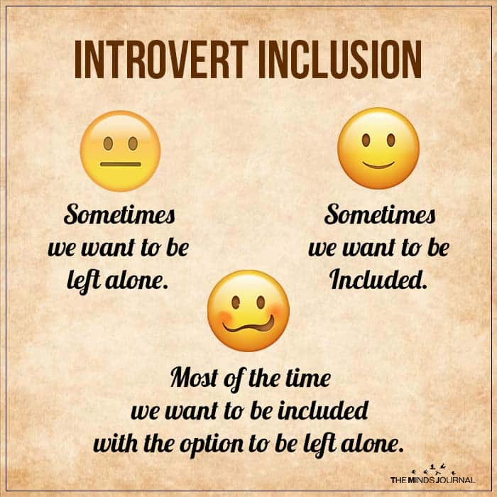 Introvert Inclusion Sometimes We Want To Be Left Alone