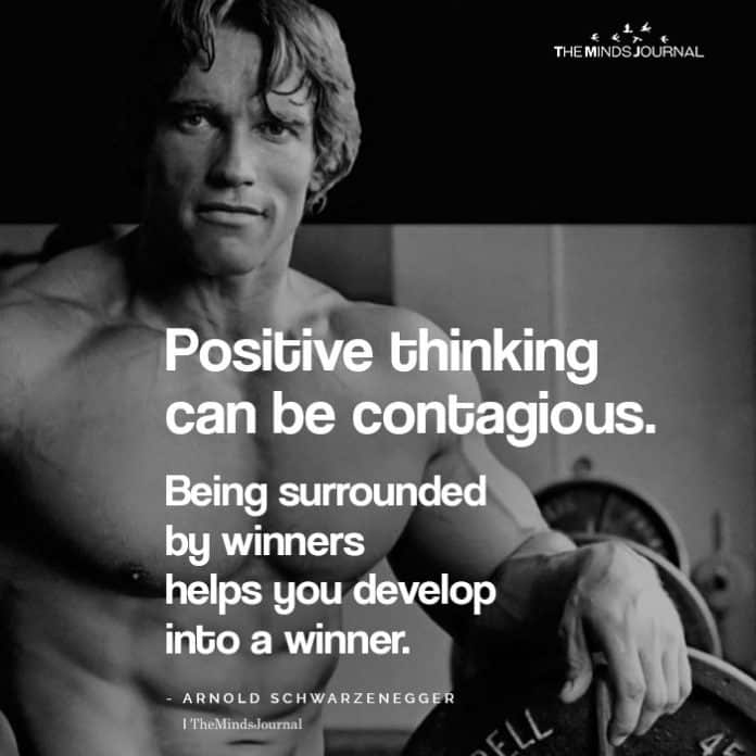 Positive Thinking Can Be Contagious